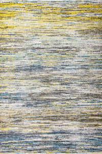 Louis de Poortere Sari Sari Blue Yellow Mix 8873 Vloerkleed