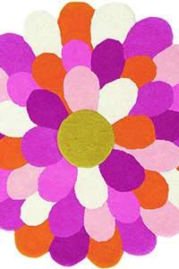 Vloerkleed Harlequin Funky-Flower 42702