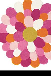 Vloerkleed Harlequin Funky-Flower 42702