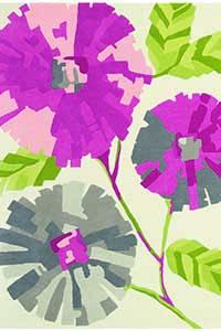 Vloerkleed Harlequin Hermosa-Fuchsia 43902