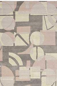 Vloerkleed Harlequin Segments Stone 41901