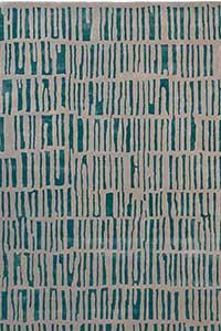 Vloerkleed Harlequin Skintilla Kingfisher 41707