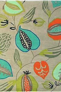 Vloerkleed Harlequin Tembok-Turquoise 43108