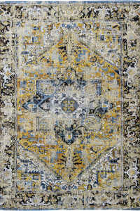 Vloerkleed Louis de Poortere Antiquarian Amir Gold Heriz 8704