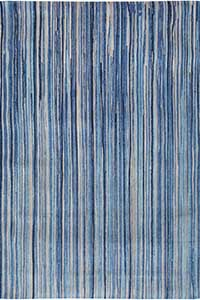 Vloerkleed Louis de Poortere Atlantic Blue Stripes 8485