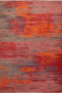 Vloerkleed Louis de Poortere Atlantic Hibiscus Red 9116