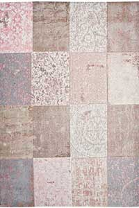 Vloerkleed Louis de Poortere Cameo Bolshoi Pink 8238