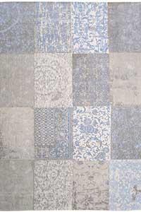 Vloerkleed Louis de Poortere Cameo Gustavian Blue 8237