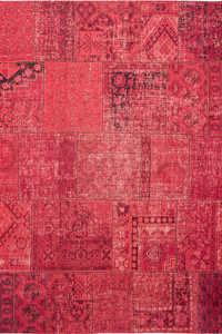Vloerkleed Louis de Poortere Khayma Mirage Red Farrago 8782