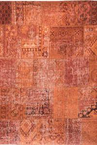 Vloerkleed Louis de Poortere Khayma Rusty Orange Farrago 8783