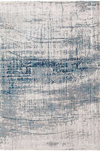 ACTIE - Vloerkleed Louis de Poortere Mad Men Bronx Azurite 8421 - 170 cm x 240 cm