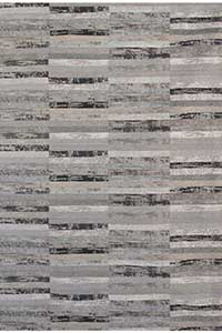 ACTIE - Vloerkleed Louis de Poortere Mosaiq Grey Shade 8378 - 170 cm x 240 cm