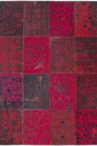 Vloerkleed Louis de Poortere Vintage Red 8014