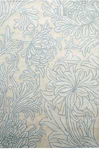 Vloerkleed Morris & Co. Morris Chrysanthemum-S/C 01 27001