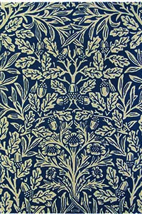 Vloerkleed Morris & Co. Morris Oak-Indigo 27908