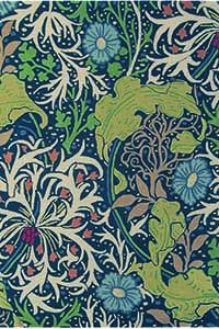 Vloerkleed Morris & Co. Morris Seaweed-Ink 28008