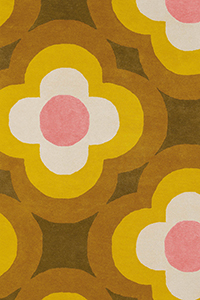Vloerkleed Orla Kiely Pulse Yellow 60306