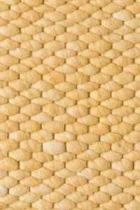 Vloerkleed Perletta Structures Limone 120