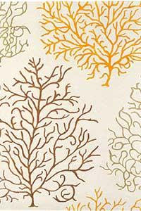 Vloerkleed Sanderson Coral-Amber 46303