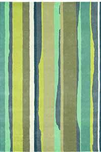 Vloerkleed Sanderson Cressida-Aqua 45107