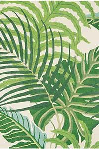 Vloerkleed Sanderson Manila-Green 46407