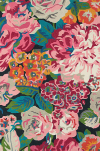 Vloerkleed Sanderson Rose en Peony Cerise 45005