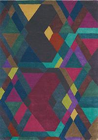 Vloerkleed Ted Baker Mosaic Deep Purple 57607