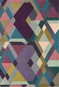 Vloerkleed Ted Baker Mosaic Light Purple 57605