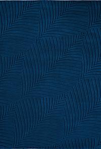 Vloerkleed Wedgwood Folia Navy 38308